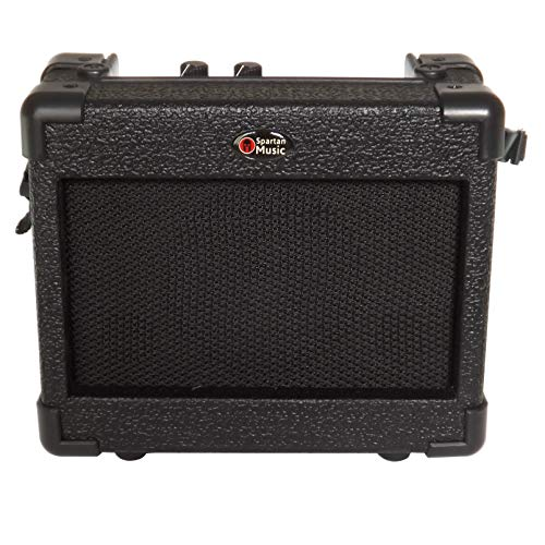 battery powered 5 watt practice and busking guitar amplifier amp 691166272976 ebay. Black Bedroom Furniture Sets. Home Design Ideas