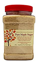 Pure Vermont Maple Sugar Granulated (Bulk)