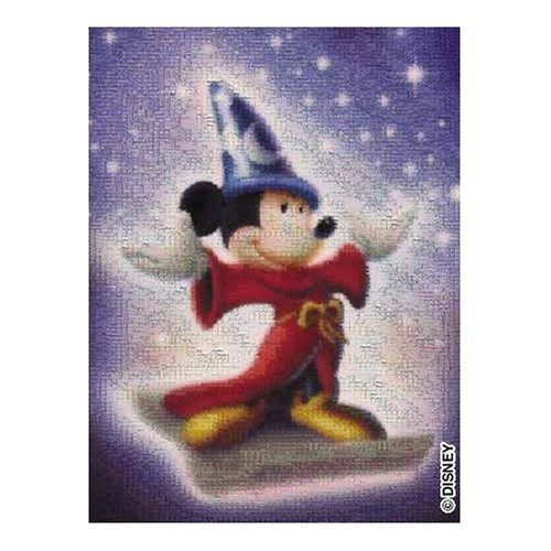 Buffalo Games Disney Photomosaic Fantasia Mickey Sorcerer 1026 Piece Jigsaw Puzzle by Buffalo Games