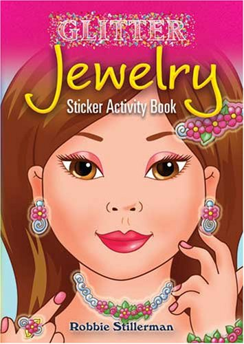 Athena Jewelry Chest - Dover Glitter Jewelry Sticker Activity Book