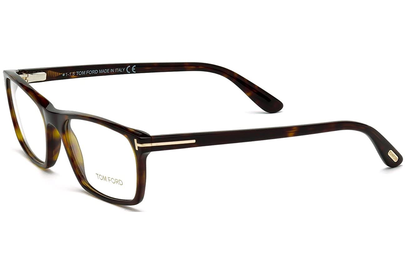 8a431b20358e8 Eyeglasses Tom Ford TF 5295 FT5295 52A dark havana   smoke at Amazon Men s  Clothing store