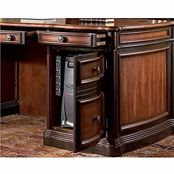 coaster home office executive desk in two tone warm brown finish amazoncom coaster shape home office computer