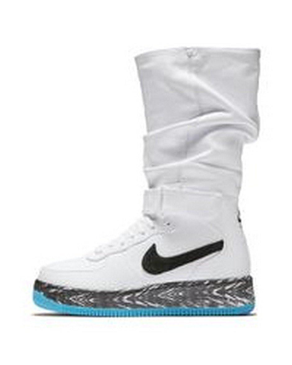 womens nike air force 1 white. Amazon.com | Women\u0027s Nike AF1 Upstep Warrior N7 Sneakerboots Boots Womens Air Force 1 White N