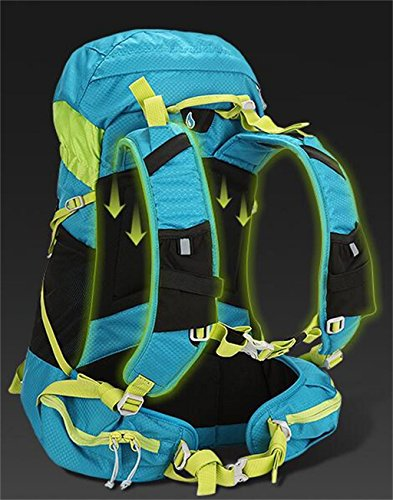 bandolera alpinismo al aire libre femenina bolsa de viaje a caballo del hombre ( Color : Azul , Tamaño : 30L ) Purple