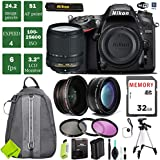 Nikon D7200 DSLR Camera 18-140mm VR Lens Bundle (18-140mm VR Lens, Standard Warranty)