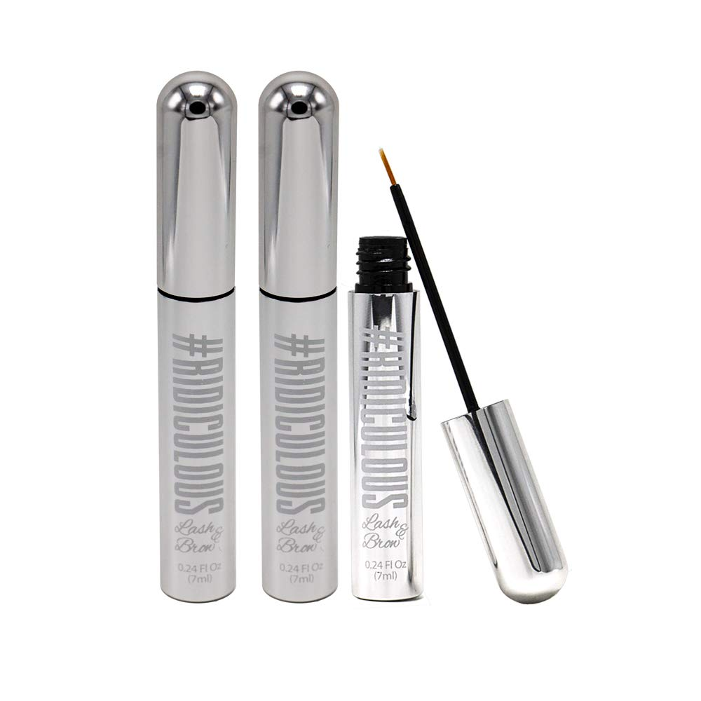 Ridiculous Lash and Brow - Eyelash & Eyebrow Growth Serum - For Fuller, Thicker, More Beautiful Eyelashes - Brows in WEEKS