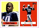 2006 Topps Turn Back the Clock #21 Vince Young TENNESSEE TITANS TEXAS LONGHORNS