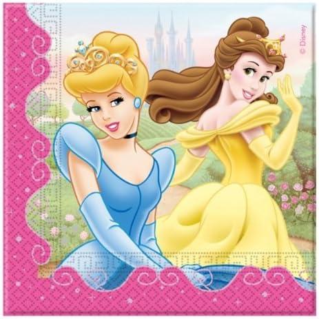 Servilletas Princesas Disney, pack de 20