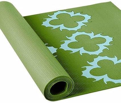 Amazon Com Lotus Yoga Alignment Mat Sports Outdoors