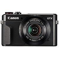 Cámara digital Canon PowerShot [G7 X Mark II] con Wi-Fi y NFC, pantalla LCD y sensor de 1 pulgada - Negro