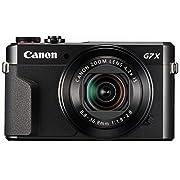 Canon PowerShot G7 X Mark II Digital Camera w/1 Inch Sensor and tilt LCD screen - Wi-Fi & NFC Enabled (Black)