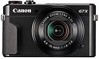Canon PowerShot Digital Camera [G7 X Mark II] with Wi-Fi & NFC, LCD Screen, and 1-inch Sensor - Black (B01BV14OXA) | Amazon Products