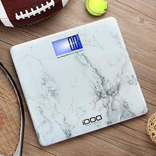 iDOO Digital Scale Ultra Wide Precision Oversized Digital Scale Big Large Backlit 440lb