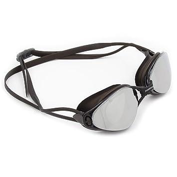 Poqswim Rocket Mirrored Swimming Goggles Brand New Professional Swimming  Goggles Men Women Waterproof Silicone Glasses Aqua d2fddb1ec5