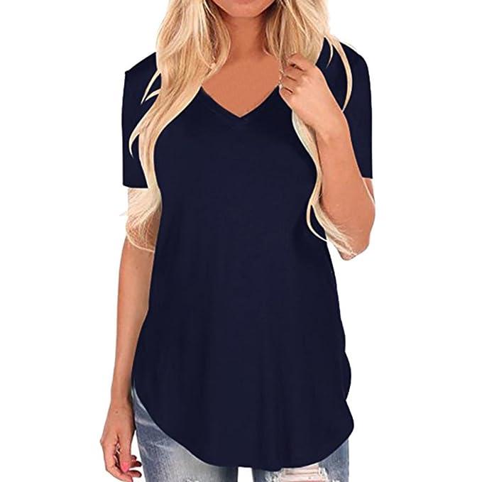 FAMILIZO Camisetas Mujer Manga Corta Camisetas Mujer Verano Blusa Mujer Sport Tops Mujer Verano Camisetas Mujer Manga Corta Camisetas Flores Mujer Camisetas ...