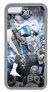 iPhone 5C Case,Logo Series Customize Ultra Slim Sport Seahawks Superbowl 10 Hard Plastic PC Clear Case Bumper Cover for iPhone 5C