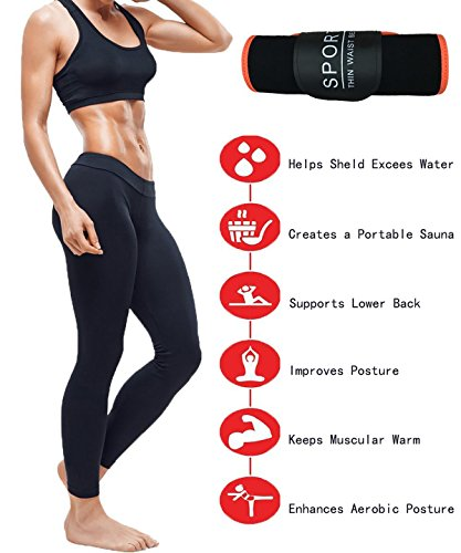 Gepoetry Waist Trimmer Belt Ab Exercise Workout Abdominal Trainer For Men Women Weight Loss