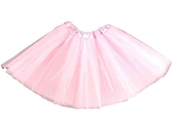 241873e6c8 High Quality Thick Petticoat TUTU Skirt 80's Fancy Dress Party Accessory  Womens Ladies (Baby Pink