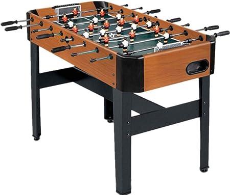 LMCLJJ Futbolín Futbolín Mesa de Juego Mesa de competición Tamaño Fútbol Arcade for Sala de Juegos de Interior Deporte: Amazon.es: Hogar