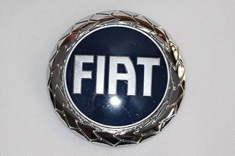 Logotipo del escudo de Fiat para Punto del año 2003, trasero, 95 mm: Amazon.es: Coche y moto