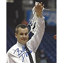 B.LLY DONOVAN - COACH of UNIVERSITY of FLORIDA for 19 Seasons - Back to Back NATIONAL CHAMPIONSHIPS in 2006 and 2007 Signed 8x10 Color Photo