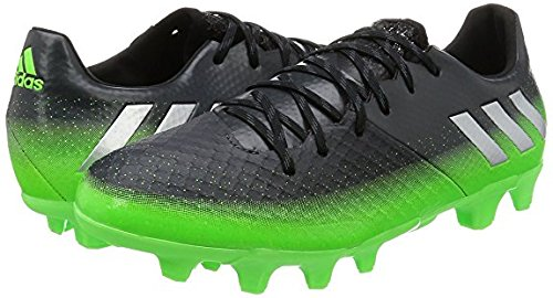 温室メンター医師アディダス adidas 27.5cm メンズ サッカースパイク MESSI メッシ 16.2 HG BB6046 国内正規品 ダークグレー×グリーン