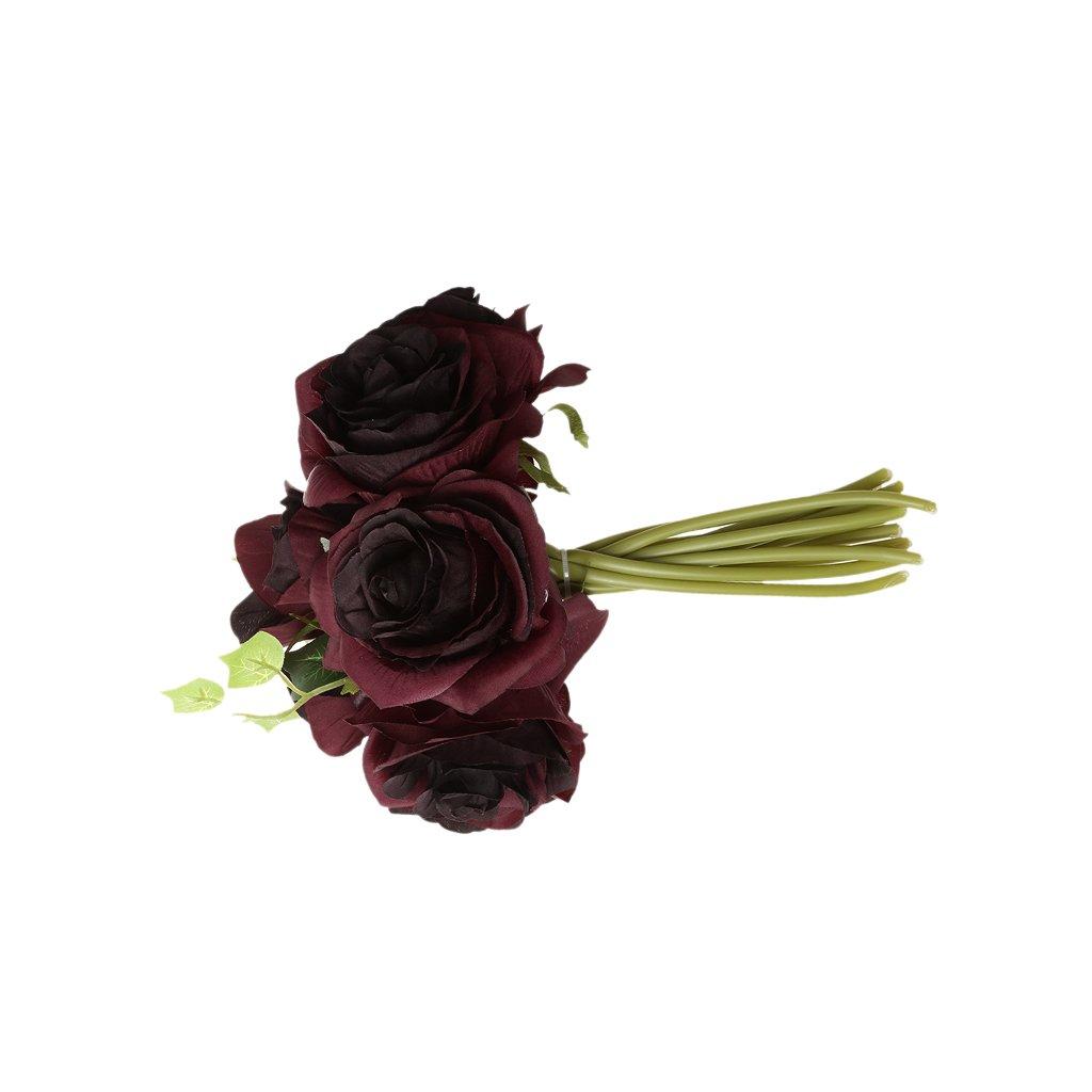 Amazon Monkeyjack Silk Rose Bouquets Wedding Bridal Bouquet