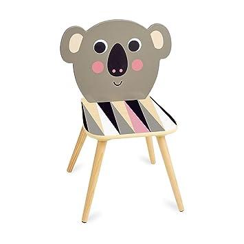 Cult Furniture Vilac Koa Koala Kinder Stuhl Aus Holz Natürlich Und