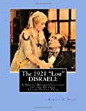 The 1921 Lost DISRAELI, Robert Fells, 1484152190
