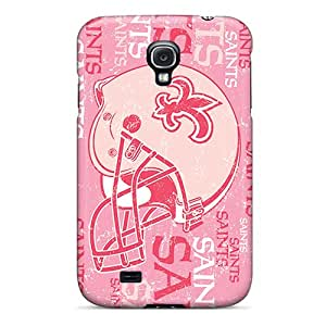 Excellent Hard Phone Covers For Samsung Galaxy S4 With Customized Trendy New Orleans Saints Pictures KellyLast