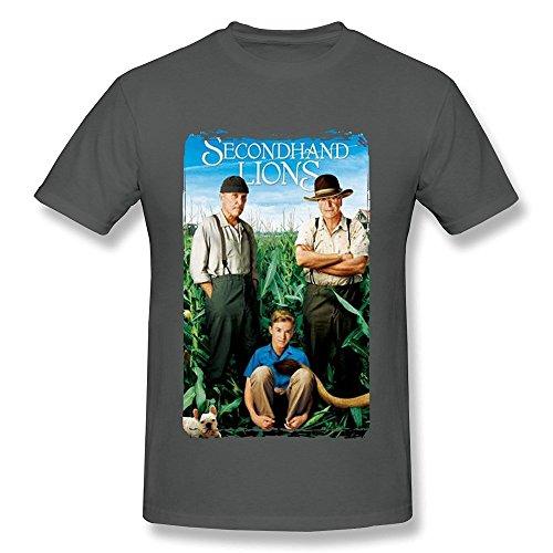 PAYYAND Men's Secondhand Lions T-shirt DeepHeather L