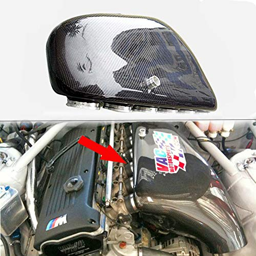 For BMW 00-06 E46 M3 3 Series 2 Door Coupe Convertible Carbon Intake Air BoX: