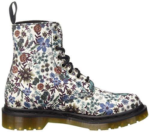 Dr. Martens Pagina Wanderlust Off White Damen Combat Boots Weiß (wit)