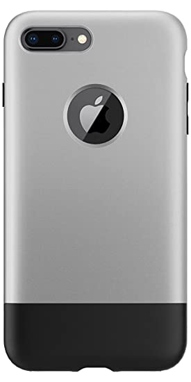 newest dad9e 28658 Spigen Classic C1 [10th Anniversary Limited Edition] Designed for iPhone 8  Plus Case (2017) - Aluminum Gray