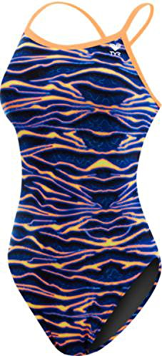 6d6a8b10c85 TYR Women's Voltage Diamondfit Swimsuit, Multicolor, Size 30 - Buy ...