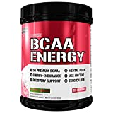 Evlution Nutrition BCAA Energy - High Performance, Energizing Amino Acid Supplement for Muscle Building, Recovery, and Endurance, Cherry Limeade (65 Servings)