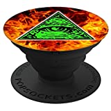 Cheap Shane Dawson 260012  Illuminati Fire PopSockets Stand for Smartphones & Tablets