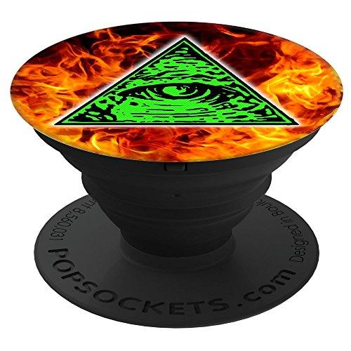 Shane Dawson 260012  Illuminati Fire PopSockets Stand for Smartphones & Tablets