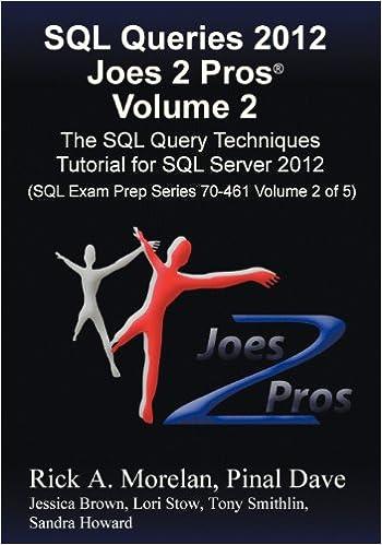 SQL QUERIES JOES 2 PROS EPUB