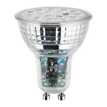IKEA Ledare 103.632.36 - Bombilla LED (GU10, 600 lúmenes, intensidad regulable