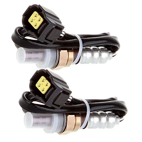 ROADFAR O2 Oxygen Sensor Upstream Downstream Sensor 1 Sensor 2 Front Rear Replacement fit for 2005-2010 Dodge Ram 1500 2007-2010 Dodge Ram 2500 2005-2012 Dodge Durango 2007-2010 Dodge Caliber