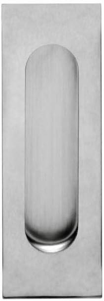 Intersteel - Tirador empotrado para puerta corredera (170 x 50 mm, acero inoxidable, satinado)
