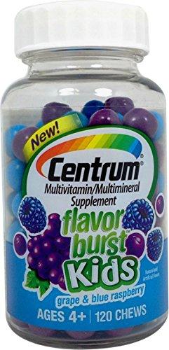 Centrum Flavor Burst Kids Fruit Multi-Vitamin, 120ct 3000549