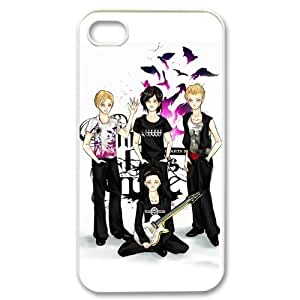 EVA Three Days Grace iPhone 4,4S Case,Snap-On Protector Hard Cover for iPhone 4,4S