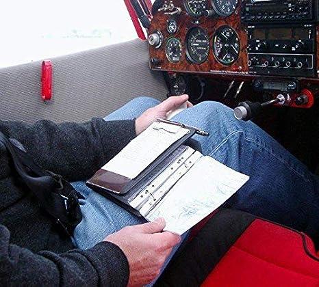 Cosciale Pilot Kneeboard-Organizer Piccolo Profi A6 black Design4Pilots