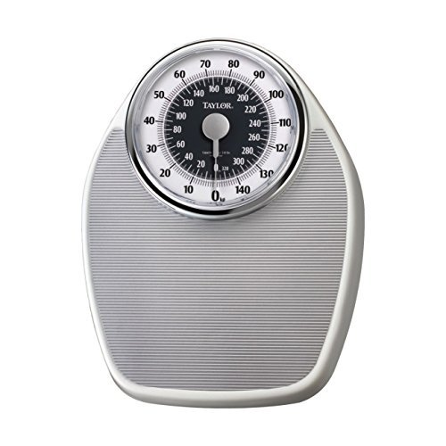 Taylor 1351es Analog 330lb/150kg. Capacity Bathroom Scale 7
