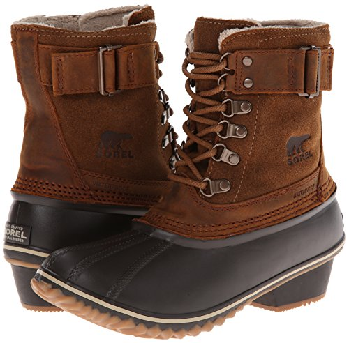 Sorel Women's Winter Fancy Lace II Boot,Elk/Grizzly Bear,9 M US by SOREL (Image #6)