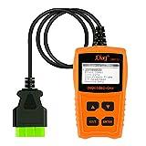 JDiag Enhanced OBD2 Scanner Car Check Engine Light Code Reader CAN Diagnostic Scan Tool
