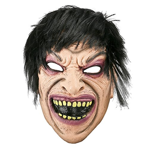 YUFENG Creepy Halloween Masks Zombie Adult Latex Scariest Ghost Costume Mask