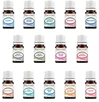 Essential Oil Blends Variety Set - 14 Pack Kit - 100% Pure Therapeutic Grade 5 ml.